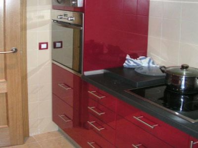Colores De Muebles De Cocina Finest Muebles Cocina Color Rojo With - Muebles-de-cocina-de-colores