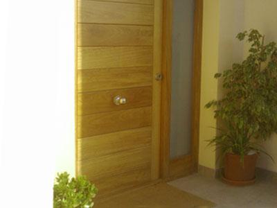 Puertas de madera mallorca materiales de construcci n - Puertas norma catalogo ...