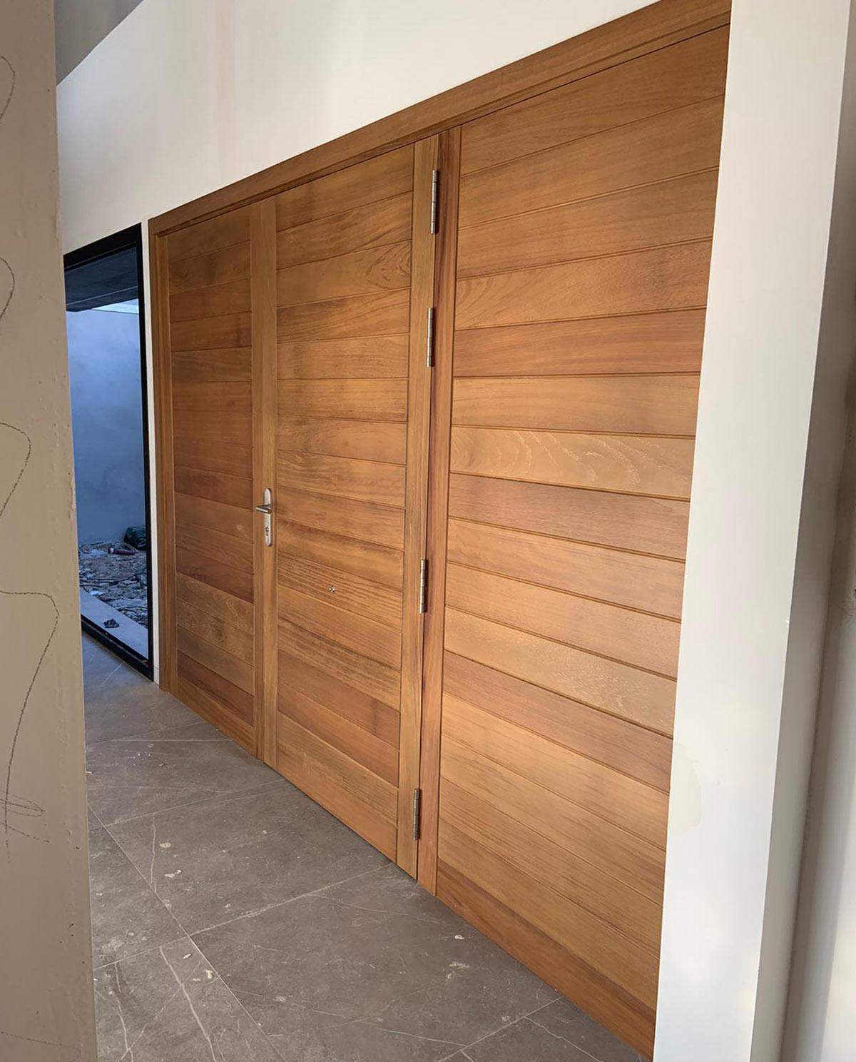 puertas madera casa